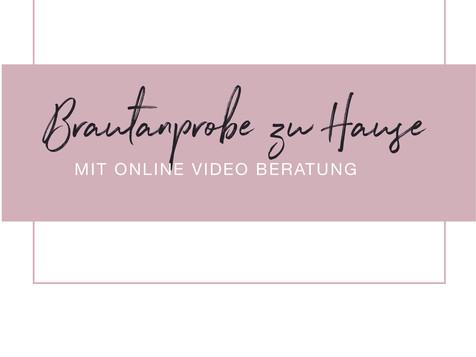 Online Beratung & Anprobe zu Hause