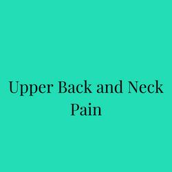Upper Back and Neck