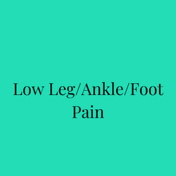 Low Leg/Ankle/Foot