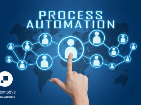 Process Automation is critical