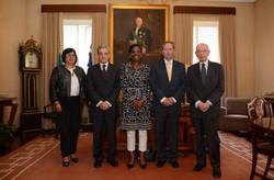 Gabinete do Presidente da Relação [Dra. Eduarda Lobo, Dr. Henrique Araújo, Dra. Francisca Van Dunem,