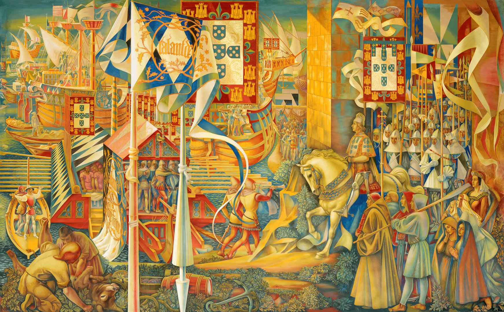 Partida da Armada do Infante D. Henrique para Ceuta
