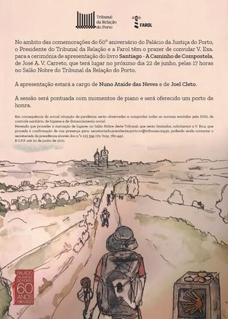 """Apresentação do livro """"Santiago - A caminho de Compostela"""""""
