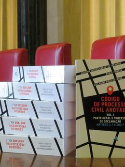 """Lançamento da obra """"Código de Processo Civil Anotado Vol. I"""""""