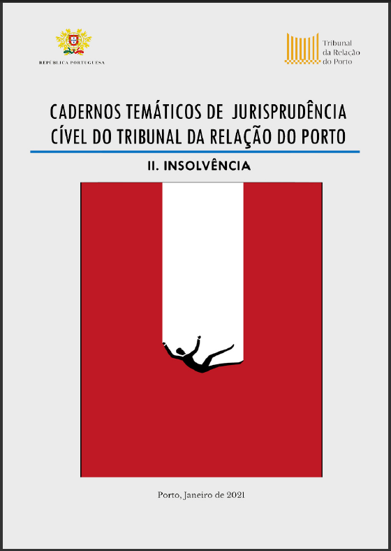 Publicação do E-Book, Cadernos Temáticos de Jurisprudência Cível do Tribunal da Relação do Porto