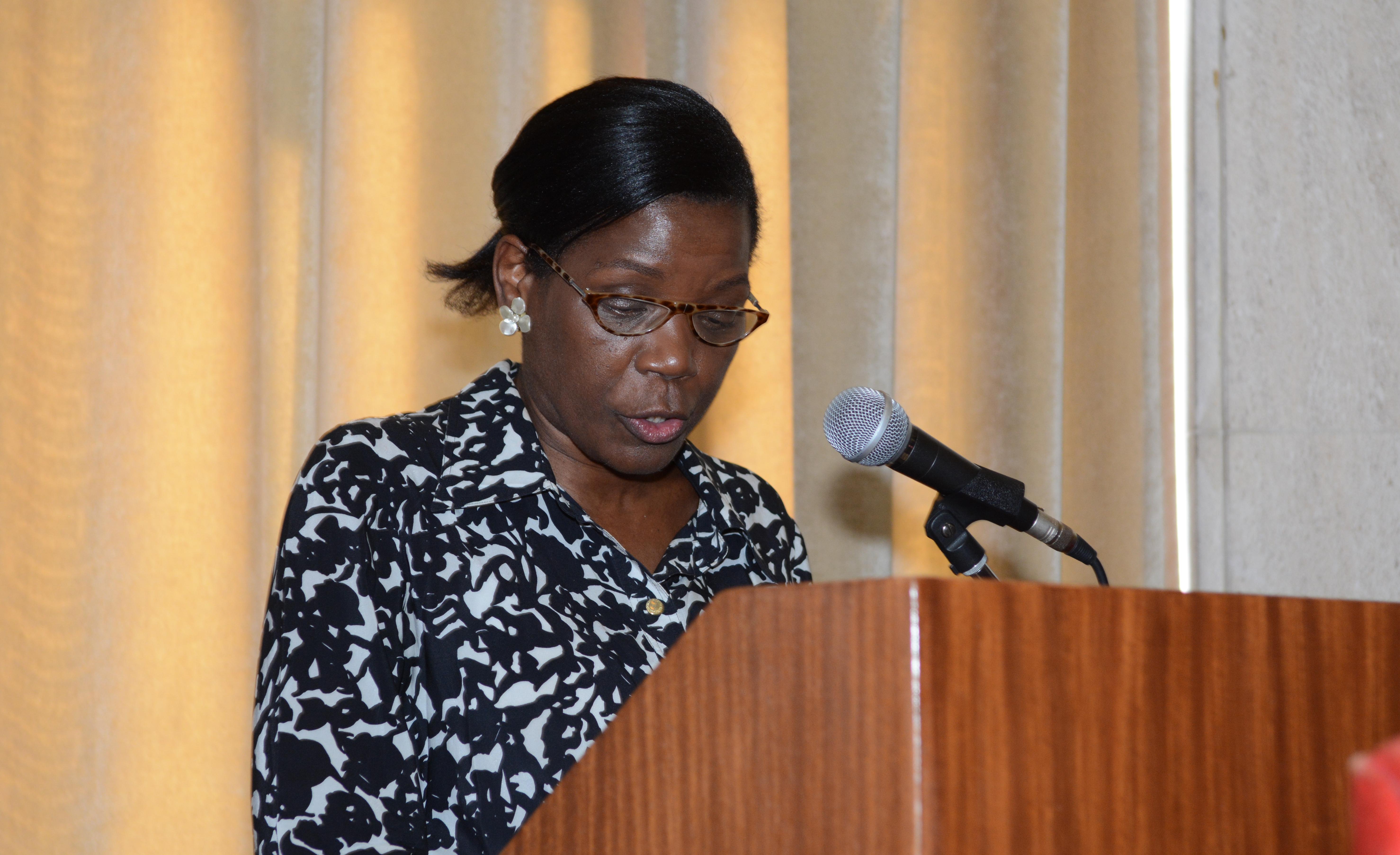 Senhora Ministra da Justiça, Dra. Francisca Van Dunem