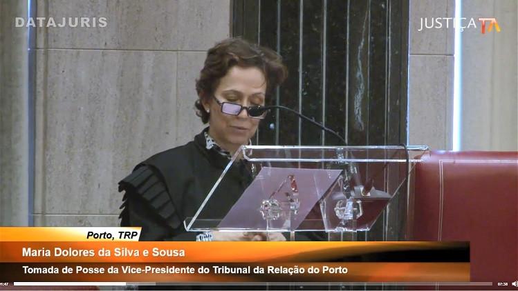 Tomada de Posse da Senhora Vice-Presidente do Tribunal da Relação do Porto