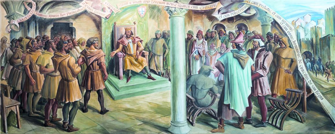 As Cortes de Leiria de 1254