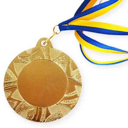 Медаль Д 257  зі стрічкою