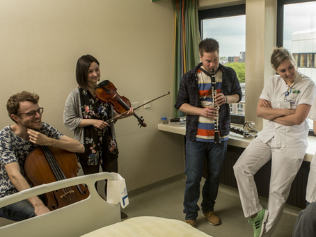 "Meaningful Music in Healthcare (MiMiC) – A ""Pas de Trois"" of musical collaboration in a hospital"