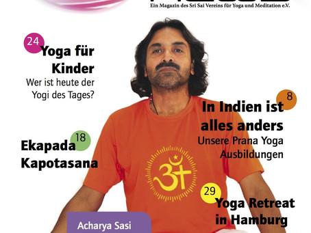 Yoga News Mai 2013