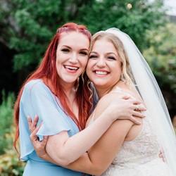 Bride + Bridemaid