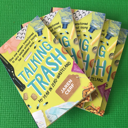 It's here - Talking Trash the book