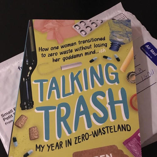 Nonfiction book about zero waste