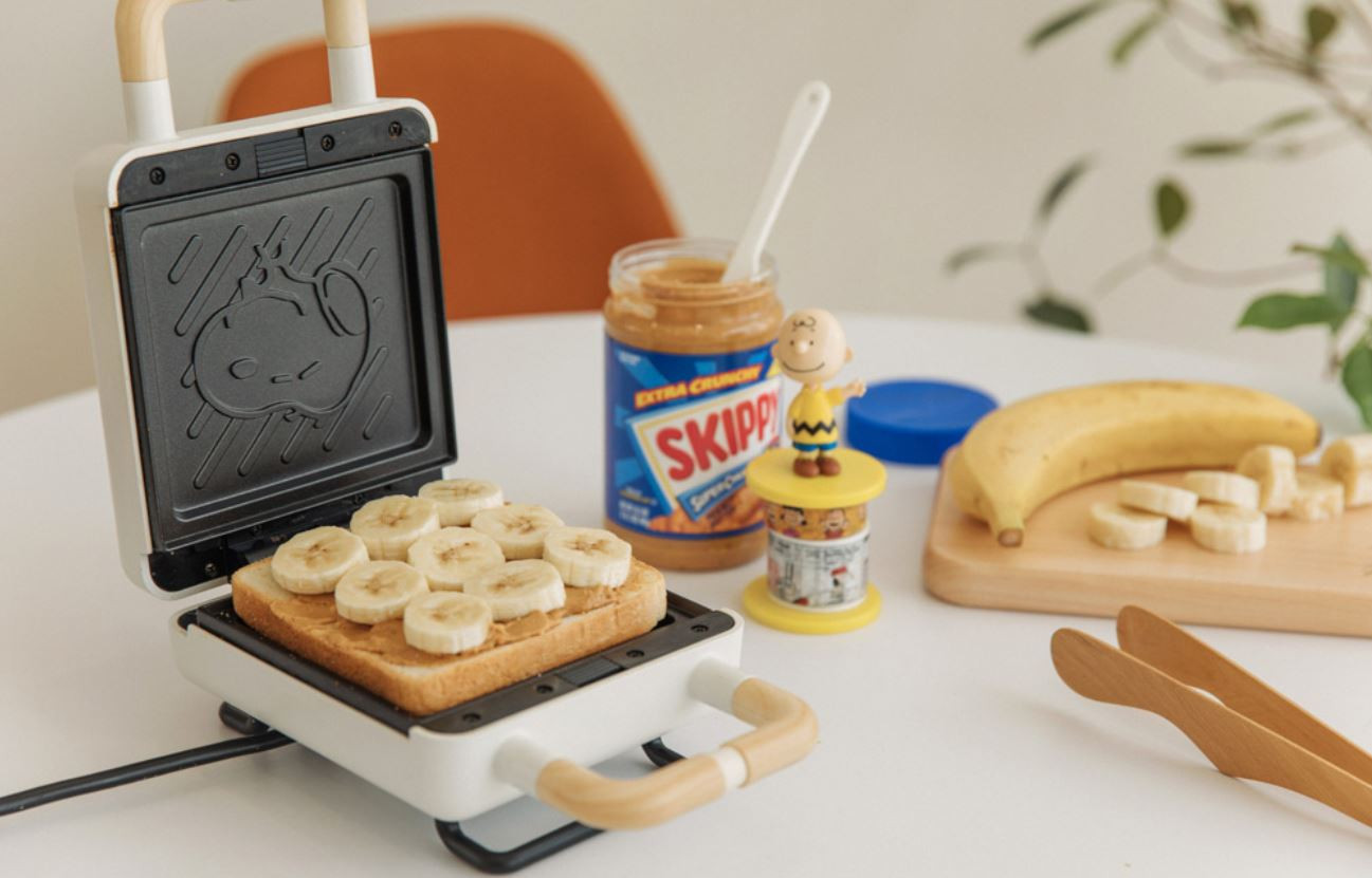 10x10 Snoopy Sandwich&Waffle Maker