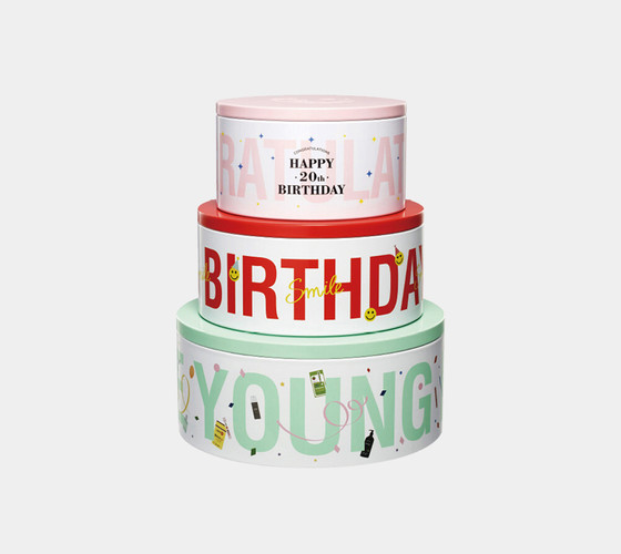 OLIVE YOUNG 20Th Birthday Can