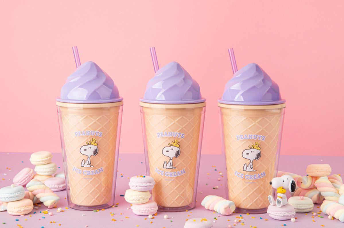 10x10 Snoopy Ice cream Tumbler