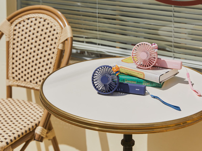 Kakao Folding Handy Fan