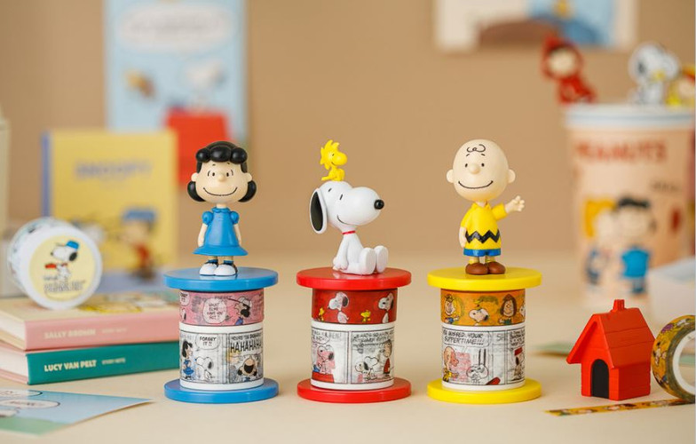 10x10 Snoopy Masking Tape Holder