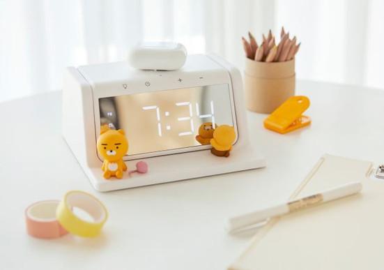 KAKAO FRIENDS Wireless Charging Sterilization Clock