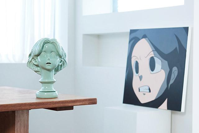 Kakao X Aokizy plaster Statue