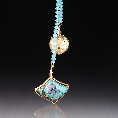 Sea Life Lariat Necklace