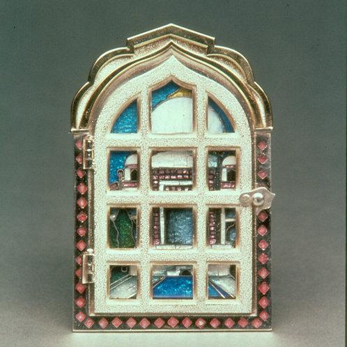 Taj Mahal Picture Window Pin