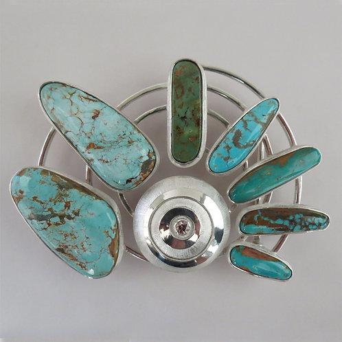 Edie's Turquoise Belt Buckle