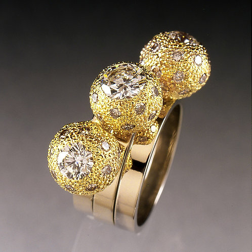 Tracey's 3-stone Ring