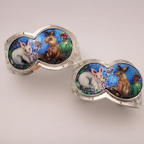 "Custom ""Be a good bunny"" Bracelets"