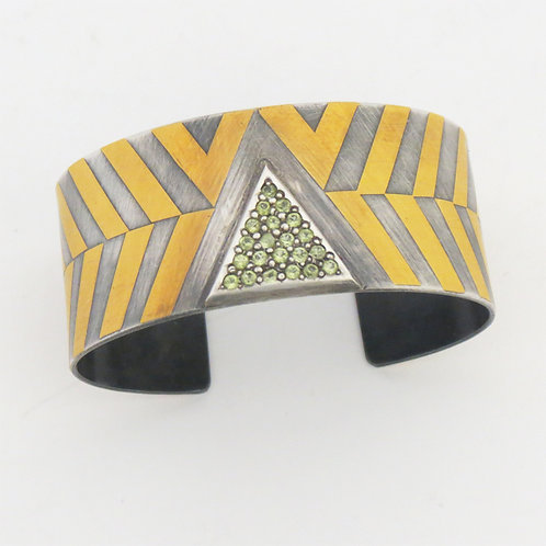 Silver and Kum-boo Bracelet