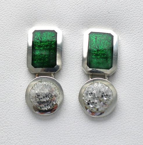 Jazzy Gem large drop earrings