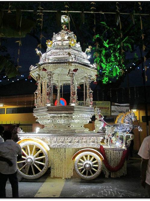 Silver Hindu Chariot