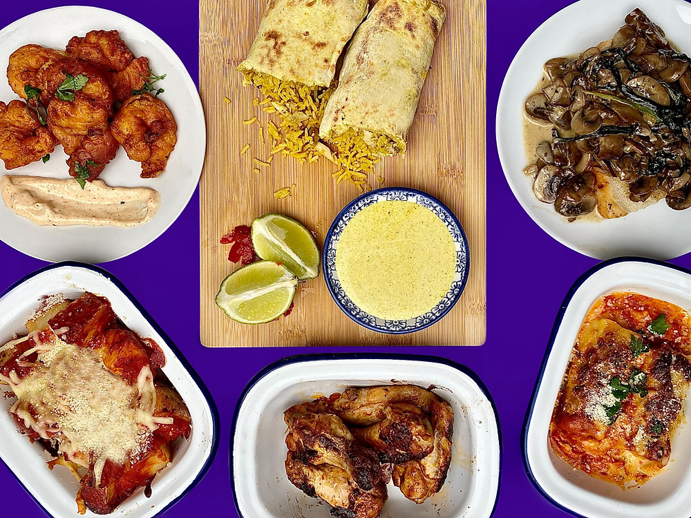 Tapas style dishes