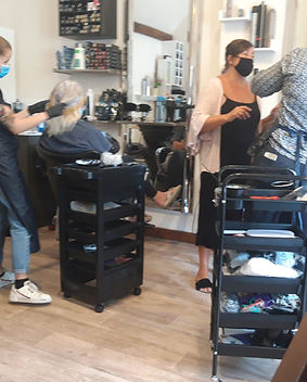 Tutor NVQ 2 hairdressing Kent Hair Cours