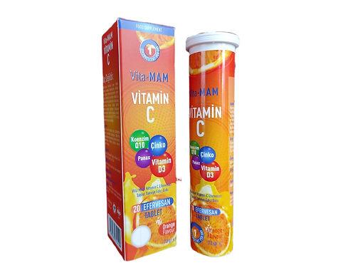 Vita-MAM C Vitamini Efervesan Tablet