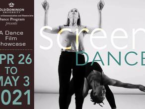 ODU Presents Screendance, a Dance Film Showcase
