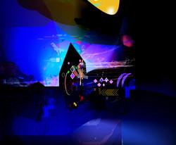 Cosmic Theatre 2 55x45cm