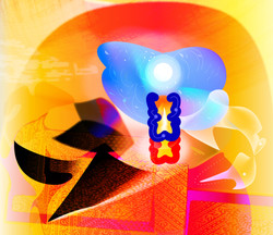 The Birth & Death of A Surrealist 52x45