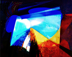 The Artists Window 57x45cm