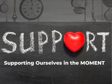 Supporting Ourselves in the MOMENT