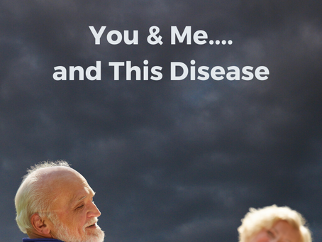 The Third Entity. You...Me...and This Disease