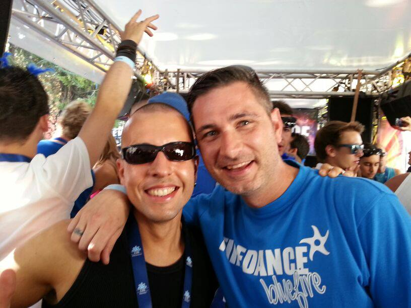 With Sean Tyas @ Streetparade 2013