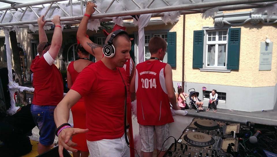Live at Streetparade 02.08.2014