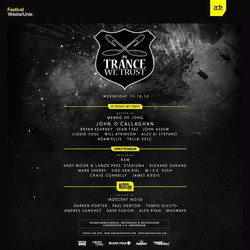 In trance we Trust 2016