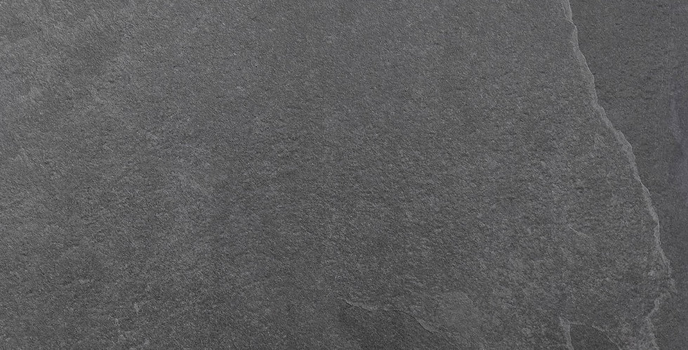 Slate Black Vitrified Porcelain
