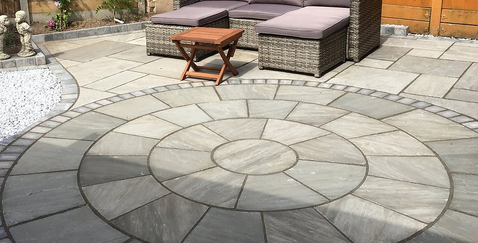 Kandla Grey Sandstone Circle Kit