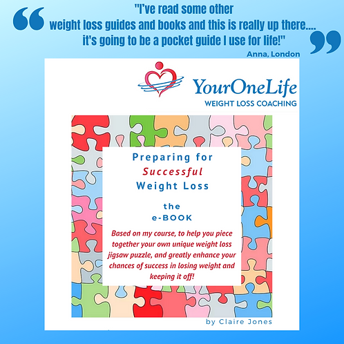 Instant Download: Preparing for Successful Weight Loss - the e-Book