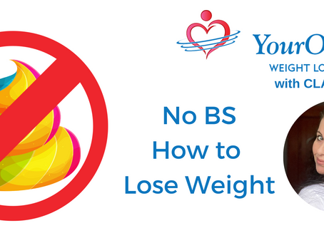 No BS: How to Lose Weight