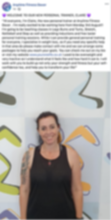Claire Jones joins Anytime Fitness Dover as the new Personal Trainer YourOneLife Weight Loss